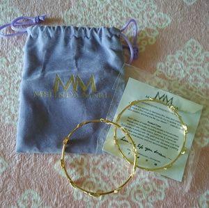 Two (2) Melinda Maria Pod Bracelets (New)
